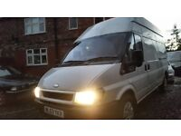 Ford tranzit high top L/W/B. Full log book n history. 1 owner from new. 12 months mot. £1700