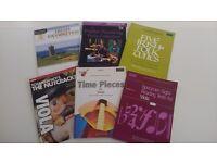 6 Viola Music Books