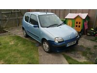 Fiat seicento 2002 1.1 for sale . Reliable and long mot