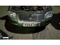 2001 vw passat 2.0 breaking for parts