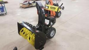 Snowblowers and Power Equipment at Auction