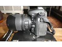 NIKON D7200 DSLR CAMERA WITH 18-105MM VR LENS KIT.