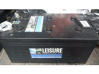 12volt 230 Ah/Amp Leisure Marine batteries (set of 2)