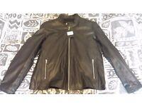 ASOS Brand New Leather Biker Jacket £50 Bargain!