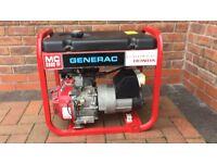 Honda Generator Generac 2.2 kVA 5.5 HP 110-240v 4/petrol