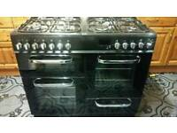 Bush dual feul range cooker 100 cm wide