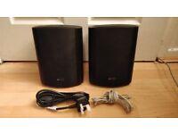 Active / Powered 100W speakers.