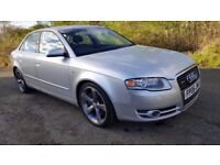 Audi A4 2.0 Turbo S Line Quattro **12 MONTHS MOT**BRAND NEW ALLOYS & TYRES**LOVELY CAR