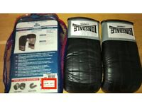 Lonsdale leather Bag Mitt and Sport Tape - Both Unused with Original Case