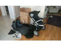 Quinny Buzz pushchair, carry cot etc.