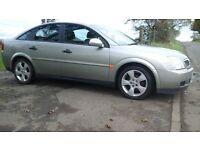 Vauxhall vectra 5 door hatchback, 2005, new mot