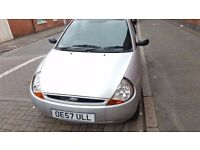 Ford KA Silver in good condition cheap insurance and tax low mileage
