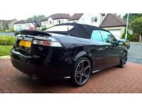 Rare Saab 9-3 Aero Convertible * twin turbo * 1 owner low mileage car *