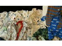 Prem baby boys clothes bundle