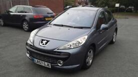 Bargain Peugeot 207 low mileage