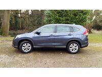 Honda CRV in Twilight Blue for sale