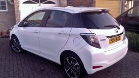 Toyota Yaris Hybrid, 1 Previous (Lady Doctor ) owner. Very low mileage, wery Well lookedafter car..
