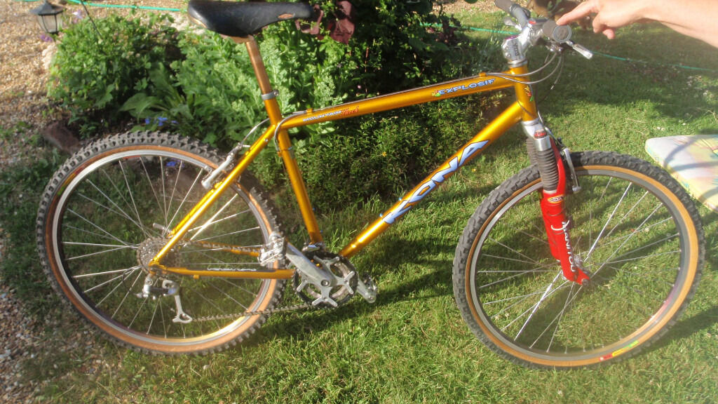 Kona Explosif steel frame mountain bike Colombus MAX OR 19 \