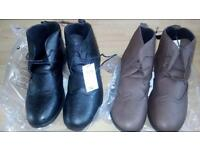 Men's boots size 11's and 12's £11a pair all new