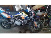 stomp 125 pitbike 2014