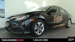 2016 Honda Civic LX caméra de recul bluetooth