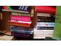 2 boxes of books ,,,,,,docking/fakenham