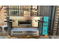 """Single Deck 6x12""""   Natural Gas   Italian Pizza & Bakery Oven Pizza Shop Equipment Commercial"""