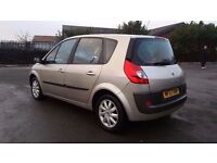 RENAULT SCENIC 1.6 AUTOMATIC IN TOP CONDITION. MOT DEC. 2017. SERVICE HISTORY. 2 OWNERS. HPI CLEAR