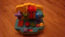 Preschool toy work bench