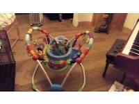 Baby jumper activity centre