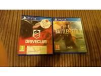 2x PS4 games