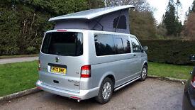 VW Transporter Campervan, 4 Berth.