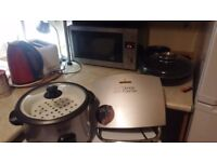 George Foreman Grill, Kettle, Toaster, Rice cooker and more- £30! ONO - must go today
