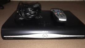 Sky Fibre Broadband Box, Sky+ HD Box, remote control