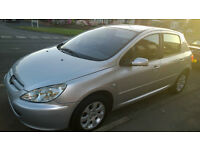 PEUGEOT - 307 S AUTOMATIC - 1.6 - 2003 - Lovely drive and very economical