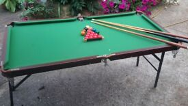Snooker Table for boys up to 12 years