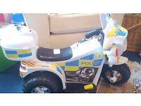 Electric police bike