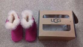UGG pink infant boots