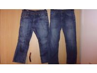 2 x men jeans: CORE by Jack & Jones, LEE Est 1889