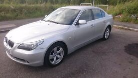 Bmw 523i ,Low mileage, manual, fsh.