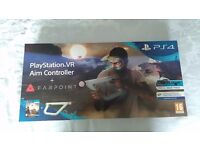 Playstation PS4 VR aim controller and fairpoint game. BNISB ready to go