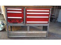Bott heavy duty van shelves/storage