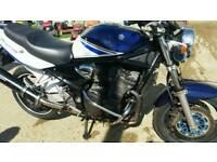 Suzuki bandit 1200 limited edition 2006 metallic blue