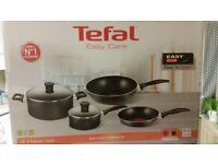 Tefal non-stick pan set new