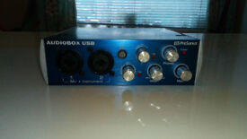 Audiobox Pre Sonus audio interface