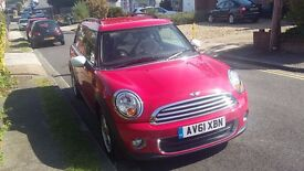 Mini Clubman One 1.6, great condition, only 30,000 miles