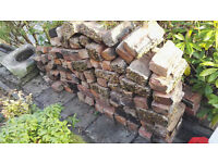 used Bricks, roof tiles and chimney caps for free