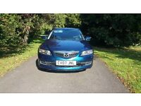 2007 mazda 6 ts leather bose sound climate £1195 *mondeo vectra passat a4 primera 407 vw size cars*