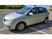 VW POLO 1.4 SE 5DR GREAT CONDITION similar to Yaris fiesta Corsa 206
