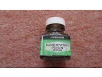 Johnsons of Hendon Black Spotting Medium Ink